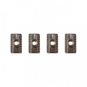 Foil Track nuts F-one (4 pcs)