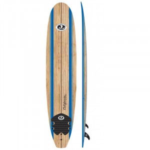 Surf  en mousse Longboard cbc 8' wooddeck