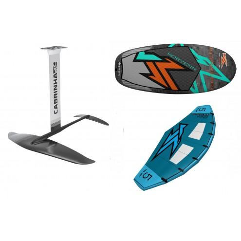 Pack Wing Glider Korvenn + Wing + Foil Cabrinha