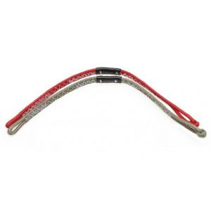 Pigtail Duotone back line 20 cm (paire)