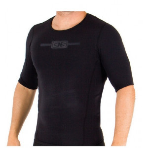 Lycra Thermo Heat Skin Short Sleeve Rash Vest