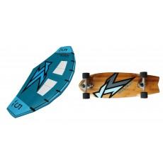 Pack Wing + Surf skate Korvenn