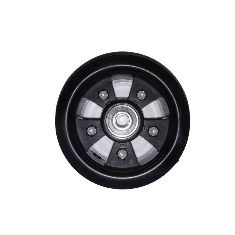 "Jante mountainboard en nylon et fibre pour pneu 8"" avec axe de 12mm"