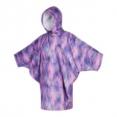 Poncho Mystic Women Black Purple 2021