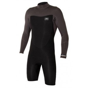 Shorty manches longues  Ocean earth Free-Flex Spring Suit - 2mm