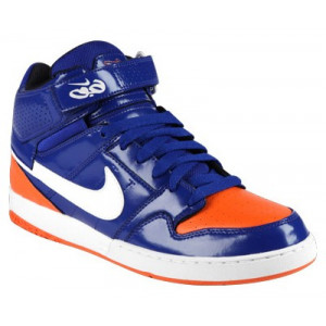 nike zoom mogan mid 2 bleu orange