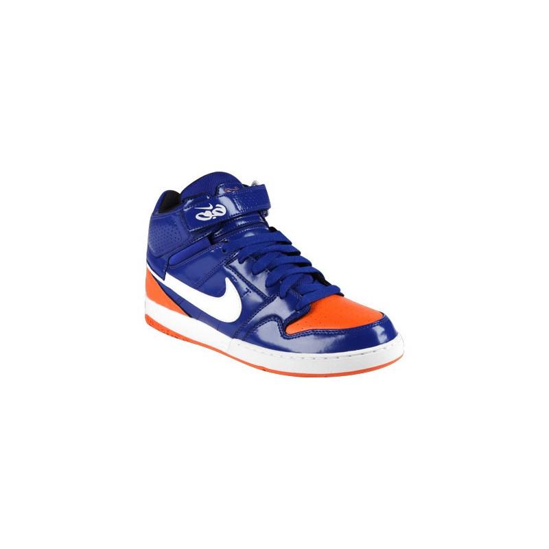 nike zoom mogan mid 2 bleu orange