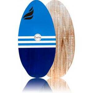 Skimboard Delta Force wood bleu