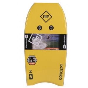"bodyboard rip concept 42"" jaune"