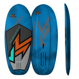 Planche de wing et stand up foil Korvenn Sup Glider carbone bleue
