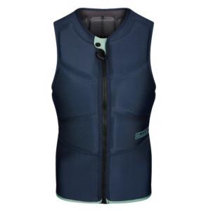 Gilet impact vest femme Mystic Star Kite Front Zip Night Blue 2021