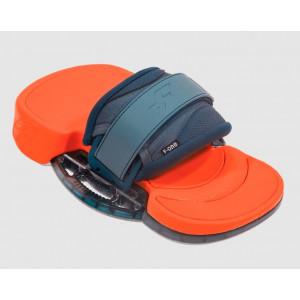 platines pads et straps f.one platinium 3 Slate Flame 2022