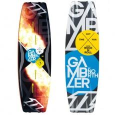 Planche North Gambler 2013 nue