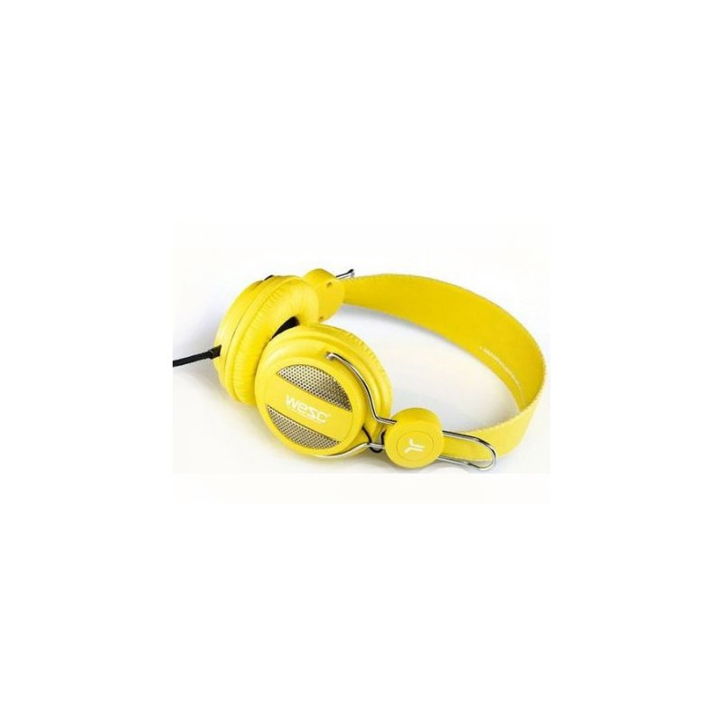 head phone WESC OBOE yellow