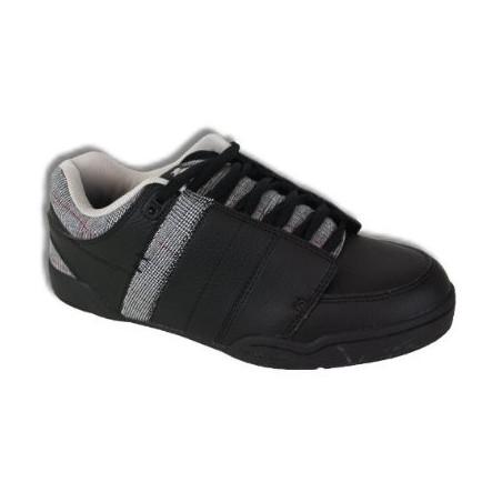 chaussure kustom kontage black tweed