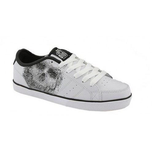 Chaussure Adio Drayton SL White Black Print
