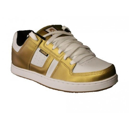 Osiris Tron Gold White shoes