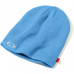 bonnet oakley fine knit beanie 3.0 blue