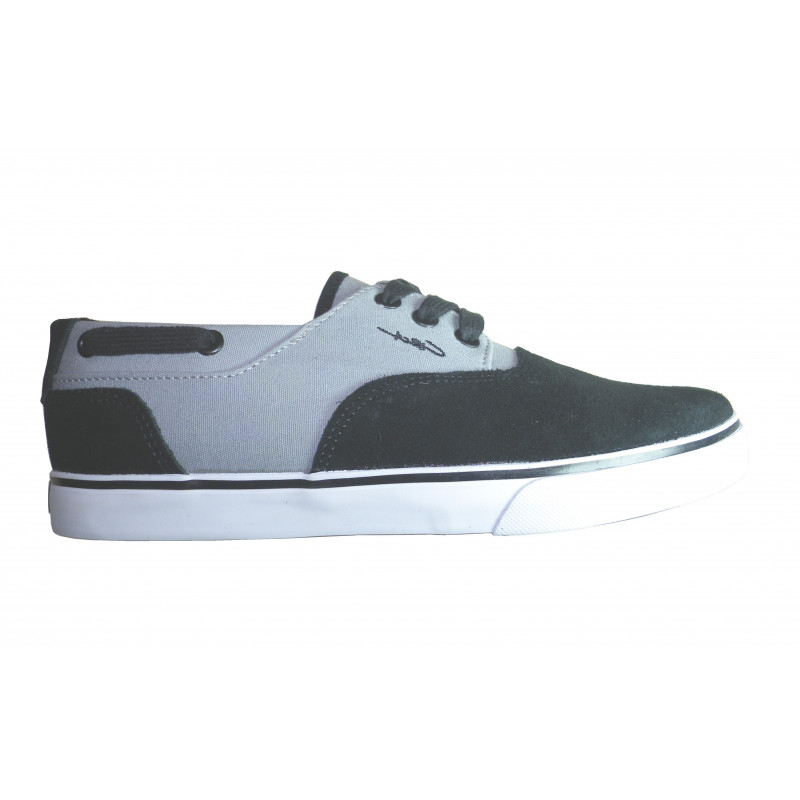 chaussures circa valeo bkgy noir et gris