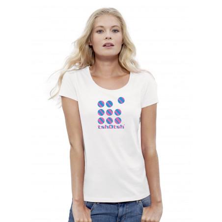T-Shirt tshOtsh Femme Crew Stripes 2014