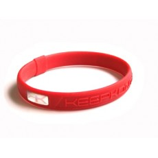 Bracelet silicone KEEP KONTROL rouge