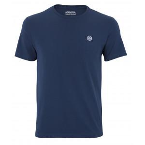 tee-shirt Manera Lavanono manches courtes Ocean Bleu