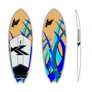 "SUP Korvenn 7'8"" Fish bambou 2015"