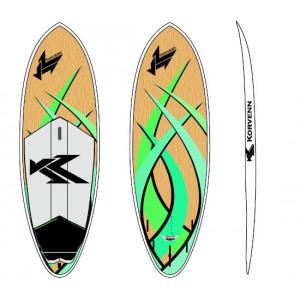 "SUP Korvenn 8'3"" Shortboard bambou 2015"