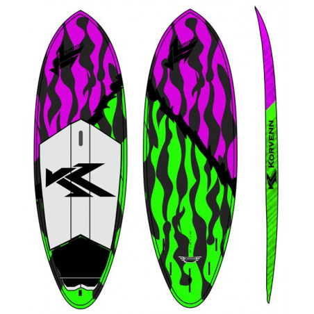"SUP Korvenn 8'3"" Shortboard carbone 2015"