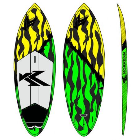 SUP Korvenn 8' Shortboard carbone 2015
