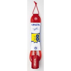 Leash surf Surfkite SUP Manera Red 7 mm