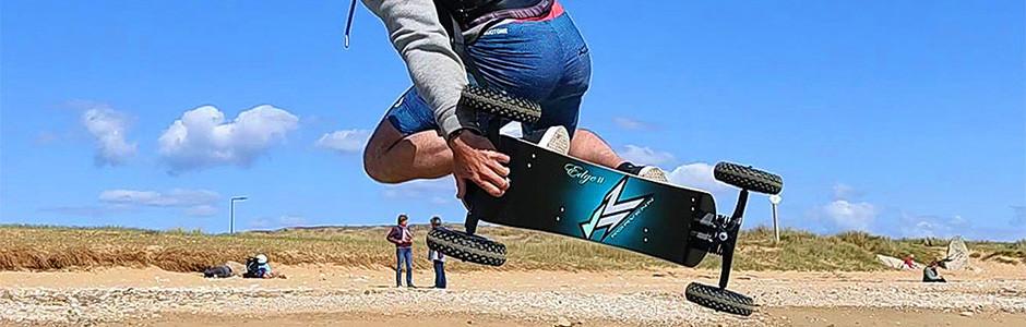 Powerkite, traction terrestre, buggy, mountainboard